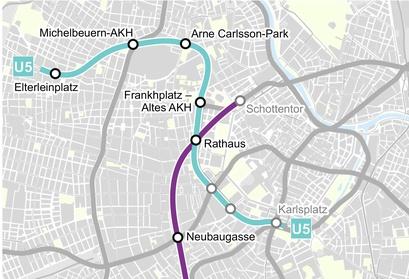 Linienkreuz U2 U5 Linienkreuz U2u5 Mobilität Innovation